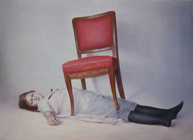 JIYUN CHEON, 'Rika under the chair ', 2014