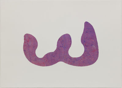 Richard Deacon, 'Violet And Red Dog Days', 2012