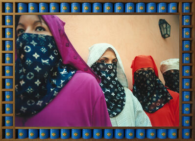 Hassan Hajjaj, 'Look At Me In Colour ', 2012