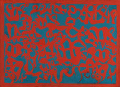 Carla Accardi, 'Turcheserosso', 1970