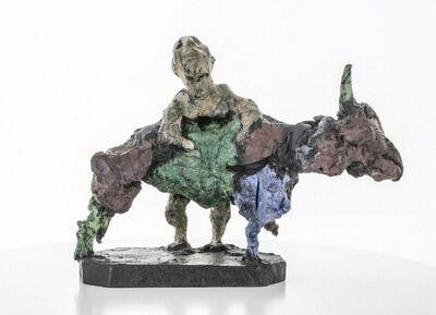 Markus Lüpertz, 'Herkules und der Stier', 2014