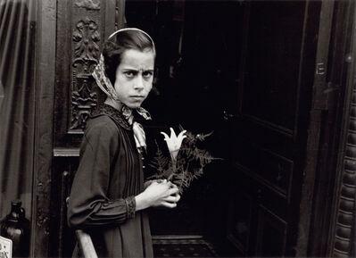 Helen Levitt, 'New York (girl with lily)', ca. 1942
