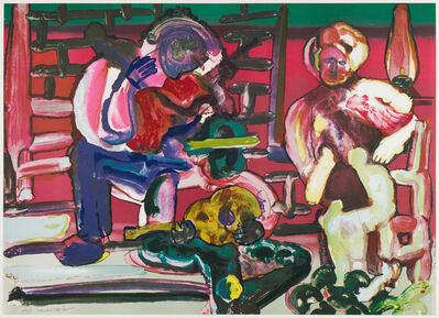 Romare Bearden, 'Louisiana Serenade ', 1979