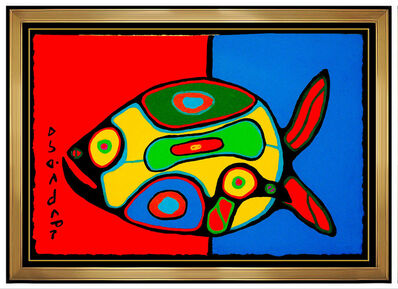 Norval Morrisseau, 'The Fish', 20th Century