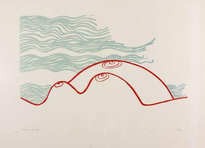 Edwina Sandys, 'Moonscape', 1974