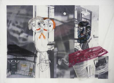 Kei Takemura, 'A woman meets a man 1 ', 2014