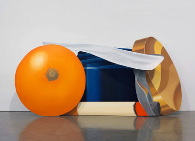 Tom Wesselmann, 'Still Life with Blue Jar and Smoking Cigarette', 1981