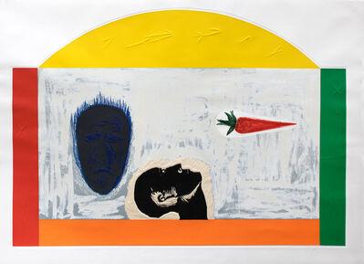 Mimmo Paladino, 'Ibico', 1990