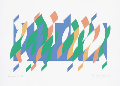 Bridget Riley, 'Arcadia 7', 2013