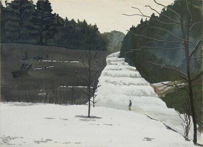 John Button, 'Buttermilk Falls, Ithaca, NY', 1982