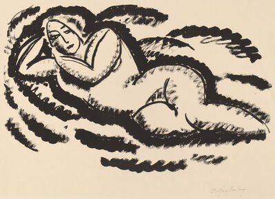 Alexej von Jawlensky, 'Reclining Nude', ca. 1912
