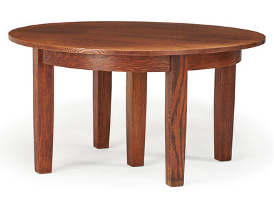Attributed to the Stickley Brothers, 'Dining room table, Grand Rapids, MI', early 20th C.