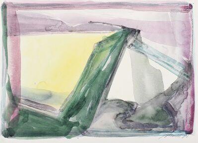 Dieter Appelt, 'Für Klaus Reichert', 1985