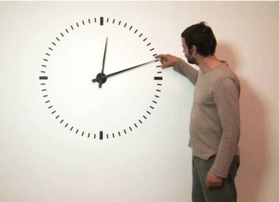 Ivan Moudov, 'Performing time', 2012