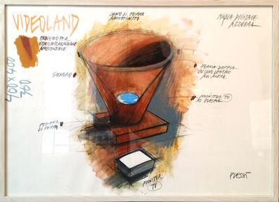 Fabrizio Plessi, 'Videoland I', 1987