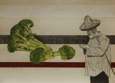 Ezequiel Ortega, 'No Title (Broccoli)', 2018-2019