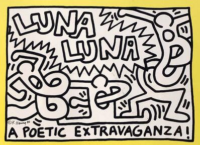 Keith Haring, 'Keith Haring Luna Luna ', 1986