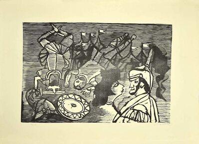 Mino Maccari, 'Knights', 1950s