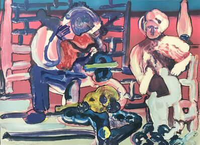 Romare Bearden, 'LOUISIANA SERENADE', 1979