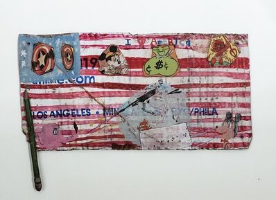 Kristen Morgin, 'I Heart American Flag', 2012