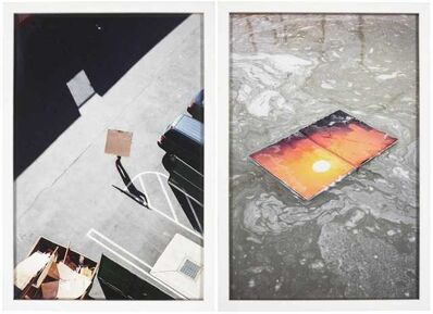 Tim Davis, 'Carrying the Square and Wet Sunset from 'I'm Looking Through You' ', 2017