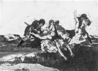 Siah Armajani, 'Disaster of War (After Goya) #5', 2009