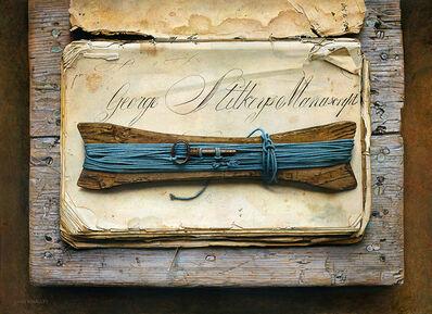 John Whalley, 'The Manuscript', 2018