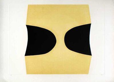 Alberto Burri, 'Bianchi E Neri I (Acetates) - Plate C', 1969