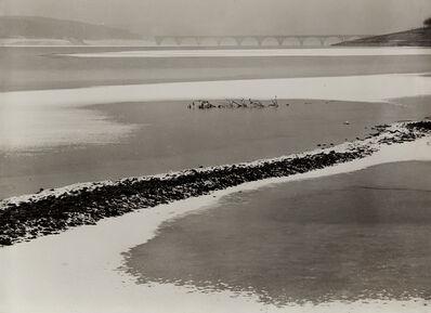 Albert Renger-Patzsch, 'Bridge over the Möhne Reservoir, Germany', 1946-1947