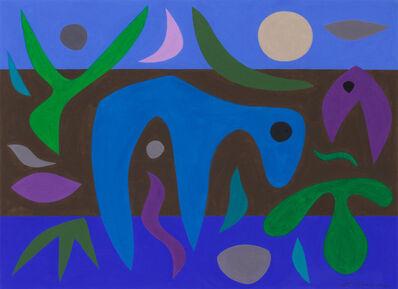 John Coburn, 'Night Desert', 1971