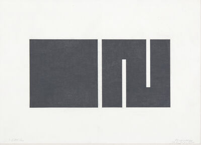 Julije Knifer, 'Meander', 1977-78