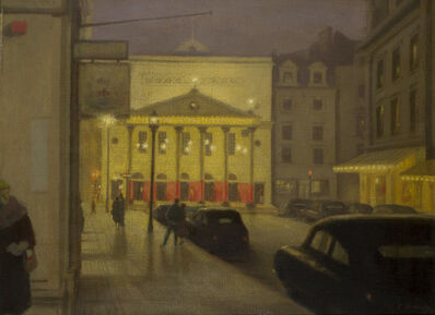 Hubert Arthur Finney, 'Theatre Royal Haymarket by night', Unknown