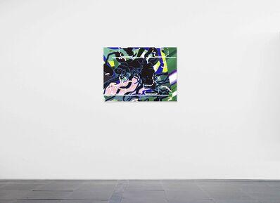 Zhong Wei, 'Blue Reaction No.2', 2019