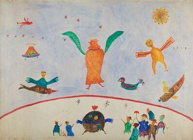 Ilija (Bosilj) Basicevic, 'Interplanetary Travelers', 1962