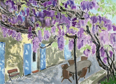 Li Shan  李珊 (b. 1957), 'Provence from a Distance (Memories about France) 遥望普罗旺斯(法国记忆)', 2020