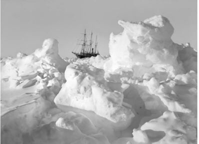 Frank Hurley, 'Endurance frozen in the ice', 1914-1917