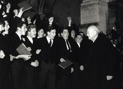 Harry Benson, 'Winston Churchill at Harrow School, England', 1964
