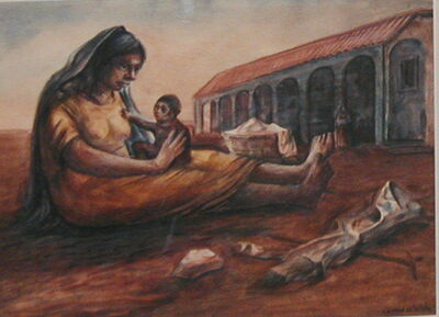 Jesus Guerrero Galvan, 'Madre Campesina', ca. 1945