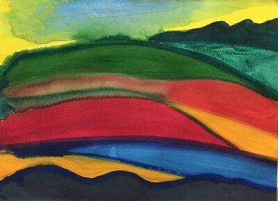 David Hayes, 'Hillside Patterns', 1985