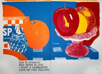 Tom Wesselmann, 'One Cent Life', 1964