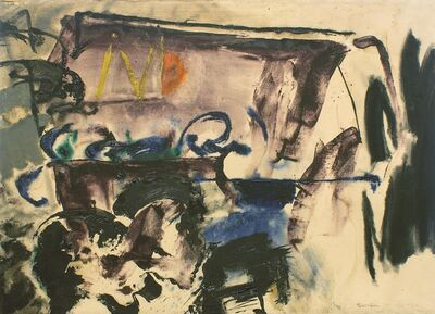 Friedel Dzubas, 'Untitled', 1956