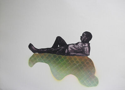 Peterson Kamwathi, 'Untitled Study for 'Lull'', 2018