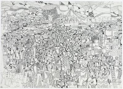 Houston Maludi, 'La vie dans la cité II', 2019