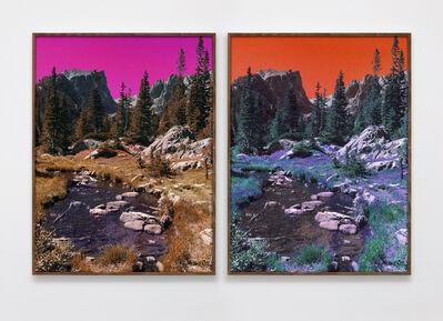 Evan Trine, 'Dream Lake Trail (PC,M,Y,B,G,PM,LG,C) (PM,Y,C,B,G,M,LG,PC)', 2017