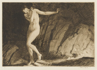 William Russell Flint, 'Eve', 1930
