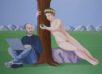 Giuseppe Veneziano, 'Paradiso artificiale', 2016
