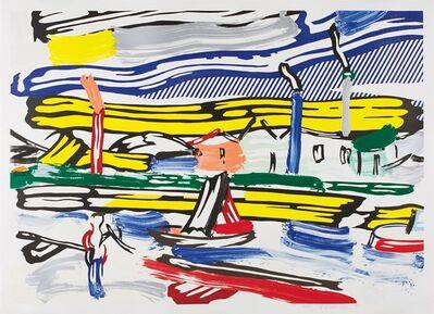 Roy Lichtenstein, 'The River(Cortlett 214)', 1985