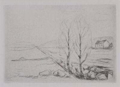 Edvard Munch, 'Norwegian Landscape ', 1908