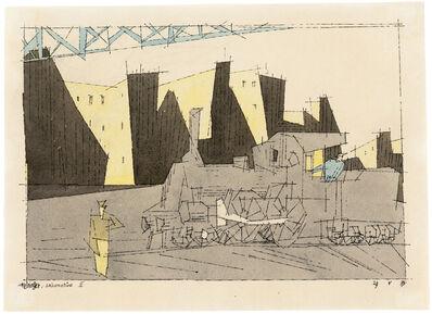 Lyonel Feininger, 'Lokomotive II', 1933