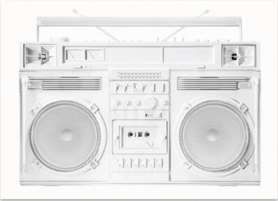 Lyle Owerko, 'Boombox Sculpture series size D (White)', 2019